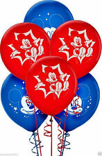 Mickey Mouse Party Supplies 30cm Latex Balloons - 6ct