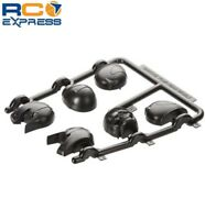 Axial Racing Helmet Set Black Yeti AX31049