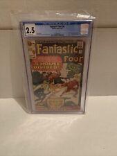 Fantastic Four # 34. CGC 2.5. Marvel 1/65.🔥🔥🔥