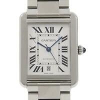 Authentic Cartier W5200028 Tank Solo Automatic  #260-003-359-8253
