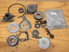 1975 Honda Goldwing GL1000 GL 1000 misc. engine parts sprockets covers idlers.