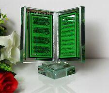More details for islamic crytsal cut clear atyul kursi book home deocr eid ramadan gift