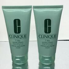 Clinique 7 day scrub cream rinse off 2 X 2.5 oz = 5oz