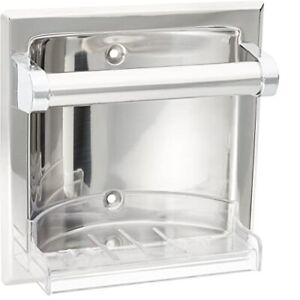 Moen 2565 Chrome Donner Commercial Contemporary Soap Holder