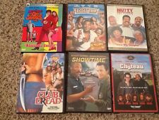 LOT of 6 Comedy DVD's FUNNY Movies-Club Dread, Austin Powers, Nutty Prof., More!