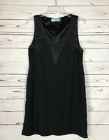 KARLIE Boutique Women's L Large Black Sleeveless Summer Fun Cute Party Dress