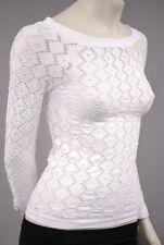 Damenblusen, - tops & -shirts mit Rundhals-Ausschnitt aus Polyamid 36 Größe