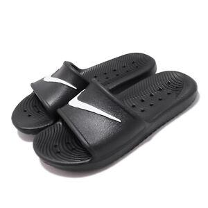Nike Wmns Kawa Shower Black White Women Sports Sandals Slides Slipper 832655-001
