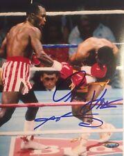 Sugar Ray Leonard & Thomas Hearns Autographed 8X10 Photo 1 Tristar Authenticated