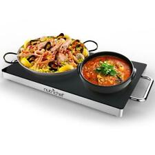 Electric Warming Tray / Food Warmer with Non-Stick Heat-Resistant Glass Plate