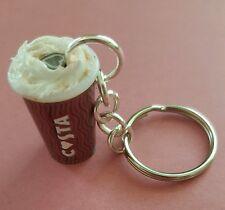Miniature Novelty Costa Coffee Drink Keyring/Bag Charm