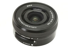 Without Box / Sony SEL E PZ 16-50mm F3.5-5.6 OSS Lens SELP1650 Black