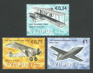 Cyprus Stamps 2021 Aeroplanes Airplanes MINT .... Low Postage