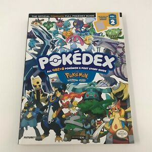 Official Pokemon Full Pokedex Guide by Future Press - Paperback 2007 - No Poster