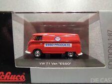 Schuco 1:87 Volkswagen Van T1 Panel Van... ESSO produits... Comme neuf N Boxed!