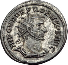 PROBUS  receiving globe from Jupiter 276AD Authentic Ancient  Roman Coin i65133