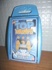 TOP TRUMPS MANCHESTER CITY FOOTBALL CLUB 2013/14 SEALED  MINT CONDITION