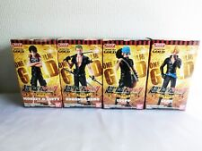 Super One Piece Styling Firm Gold 1 All 4 Complete Set Luffy Zoro Figure Japan