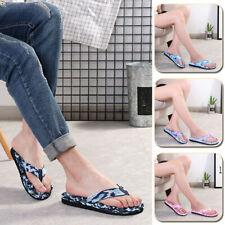 Men Women Flip Flops Camouflage Sandals Bathroom Slippers Casual Beach Shoes