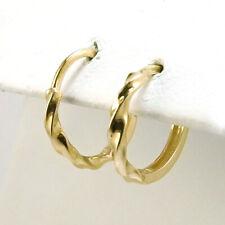 346484e4825f2 14k gold small hoop earrings   eBay