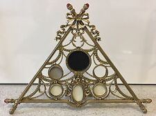 Faberge Photograph Frame Brass Coloured Metal Multi Photograph 6 Past Times