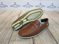 NICE Bruno Marc Comfort Brown Tan Dress Shoes Slip-On Loafers Men's size 11