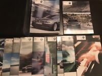 2005 BMW 3 Series Owners Manual With Case OEM Free Shipping