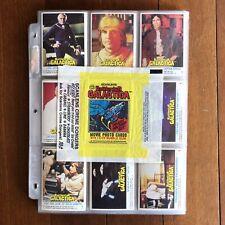 1978 SCANLENS BATTLESTAR GALLACTICA Full Set Of 144 Trading Cards RARE Scanlen's