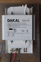 Parmar Venture 400 W Ballast Magnétique sodium hps//Halogénure Métallique Lampes 3.6-4.45A T