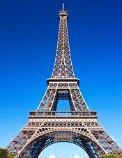 METAL MAGNET Eiffel Tower Paris France Travel View From Below MAGNET