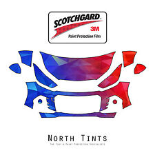Chevrolet Spark 2016-2017 PreCut 3M Scotchgard Paint Protection Clear Bra Kit