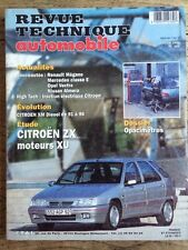 Revue Technique Automobile CITROEN ZX moteurs XU