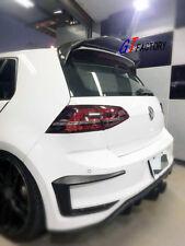 3PCS CARBON REAR WING SPOILER FOR VW VOLKSWAGEN GOLF7 GOLF 7 MK7 GTI ONLY