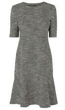 Designer LK BENNETT Cynthia tweed dress size 16 --BRAND NEW-- elbow sleeve