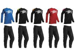 Thor MX Sector Link Youth Jersey & Pant Combo Set ATV BMX Motocross Riding Gear
