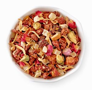 🍑❤️🍍 NEW! RARE!! Sealed Teavana Pineapple Kona Pop Loose Leaf Herbal Tea 🌈🍊☕