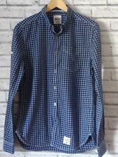 SUPERDRY MENS LONG SLEEVED CHECKED SHIRT SIZE S