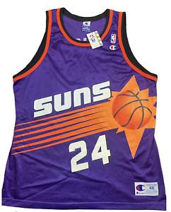 Vintage Rare Phoenix Suns 90s Champion Jersey Tom Gugliotta NWT Autographed Sz48