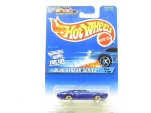 Hotwheels Olds 442 Blue Streak 16946 Long Card 1 64 Scale Sealed