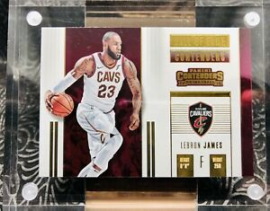 2017-18 LeBron James #6 HALL OF FAME Panini Contenders NBA Cleveland Cavaliers