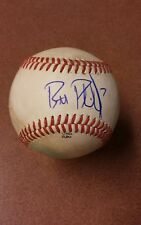 Brett Phillips Signed Autographed Baseball on used Az league ball. Brewers