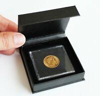 Ecrin pour pièce d'or Napoléon 20 fr Louis d'Or Capsule de Protection Gratuite