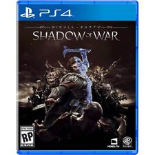 MIDDLE-EARTH: SHADOW OF WAR  (PLAYSTATION 4) PS4- NEW - RELEASE DAY DELIVERY!