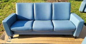 Ekornes Stressless Arion 3 Seat Low Back & 2 Seat High Back Sofa Set....NICE!!!!