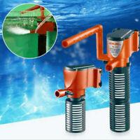 3-in-1 Aquarium Internal Filter Oxygen Submersible Water Pump For Fish Tank