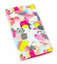 2018 Slimline Planner Diary, 2 Weeks to an Opening - Bright Abstract Collage