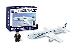 EL AL Airlines Construction With Pilot Figure Boxed