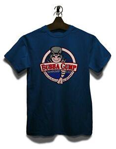 Bubba Gump Shrimp Company T-Shirt Run Forrest Tom Hanks Movie Kult Parodie