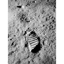 Apollo 11 Bootprint Astronaut Aldrin Armstrong Moon Landing Extra Large Poster