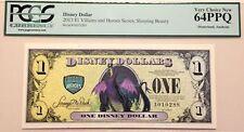 2013A $1 Sleeping Beauty Disney Dollar Graded By PCGS Gem New 64PPQ, A010288